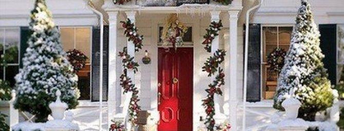 Лучшая десятка идей по новогоднему украшению дачного дома и участка