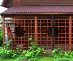Строительство навеса, пристроенного к дому: реализация проекта своими руками