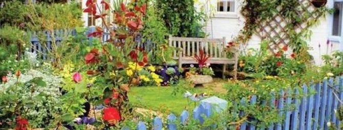 Деревенский стиль в ландшафтном дизайне: создаем атмосферу «единения с природой»