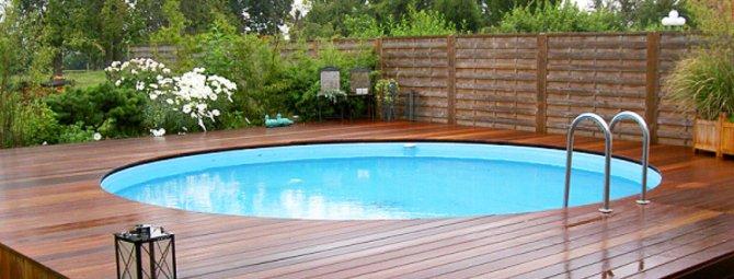 как правильно построить бассейн