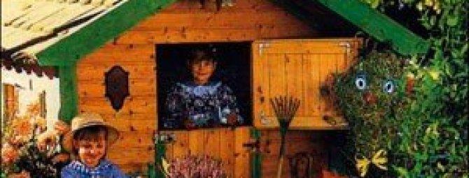 Детская площадка на даче: что можно соорудить для ребенка своими руками?