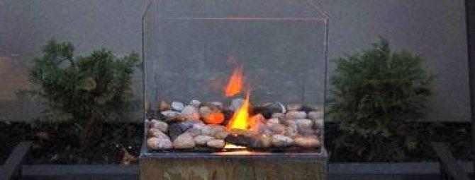 Мастерим биокамин для своей дачи: очаг с «живым огнем» без дыма и золы