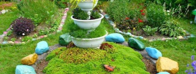 Идеи из камня для сада своими руками фото