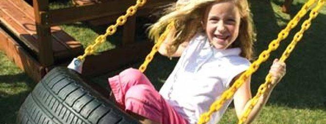 Поделки для детской площадки: обустраиваем детскую зону участка самоделками
