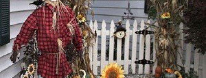Огородное чучело своими руками: 3 мастер-класса + фото-подборка лучших вариантов