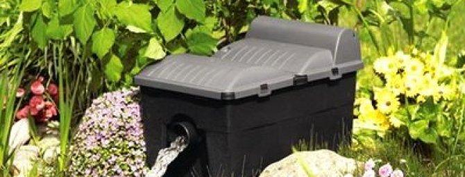Делаем самодельный фильтр для очистки пруда: обзор 2-х лучших конструкций