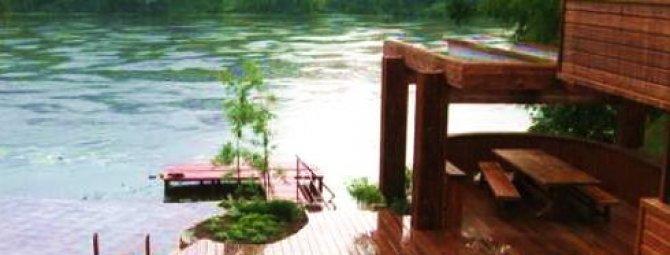 Устройство деревянных мостков и причалов: варианты конструктивных решений