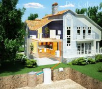 Устройство канализации на даче: самые простые способы отвода стоков