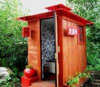 Как сделать деревянный туалет на даче: строительные нормы + пример устройства