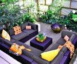 Заглубленная зона отдыха в саду и у бассейна: интересные изыски от дизайнеров