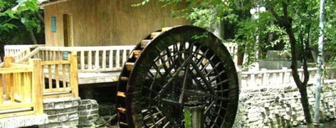 Устройство декоративной водяной мельницы своими руками
