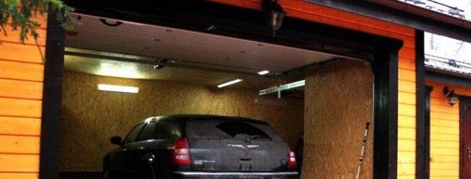 Гараж на даче своими руками: все про строительство гаража на даче