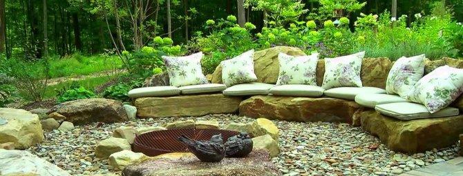 Дизайн оформление зоны отдыха на даче: как обустроить уютный уголок в своем саду?