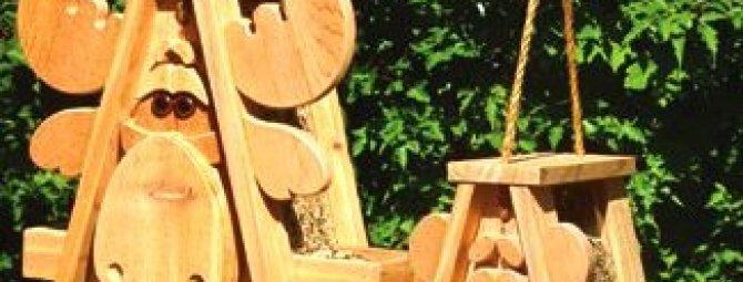 Поделки из фанеры для украшения сада: делаем бюджетные садовые фигуры