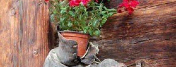 Необычные и затейливые идеи декора для сада