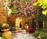 Участок в средиземноморском стиле: сады южной Европы в российских реалиях