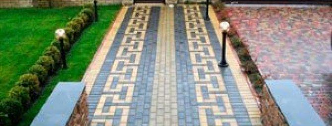 тротуарная плитка рисунки укладки фото