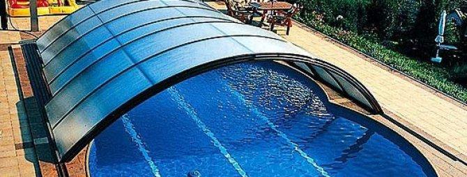 Павильон для бассейна своими руками: возведение «крыши» из поликарбоната