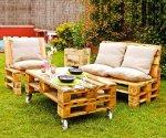 Мебель из поддонов своими руками: садовый конструктор из паллет
