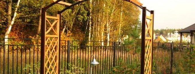 Садовая арка для цветов на даче: дизайнерские идеи + пошаговый мастер-класс