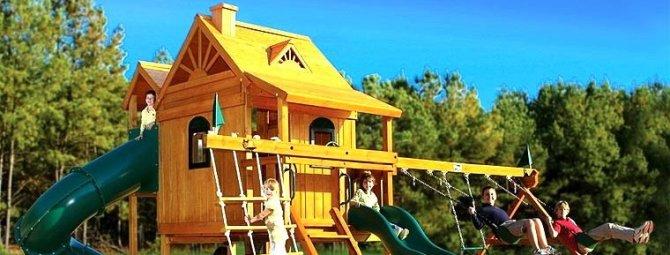 Что нам стоит дом построить: обзор 3-х вариантов детских игровых домиков