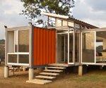 Как построить дачный дом из контейнера: легкое решение проблемы дачного жилища
