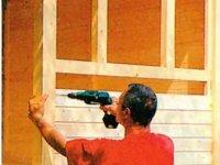 Обшивка стен каркасного домика