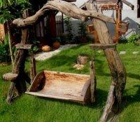Садовые качели своими руками: подборка дизайнерских идей и способы их воплощения