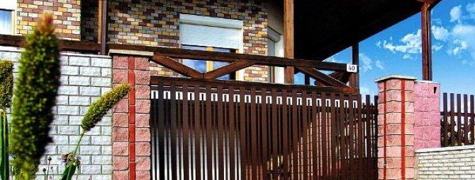 Устройство самодельных сдвижных ворот: пошаговая монтажная инструкция