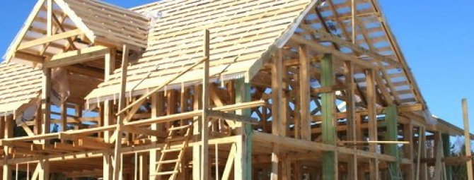 Каркасный дом своими руками строил один 958