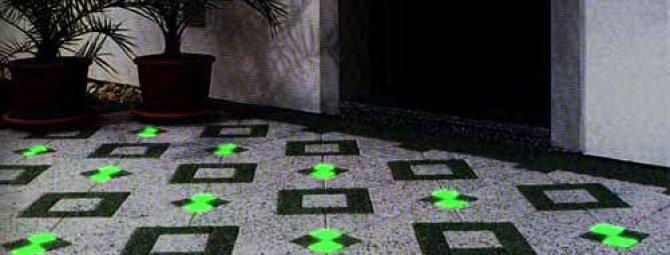 Светящиеся камни для ландшафтного дизайна: приемы светового декора участка