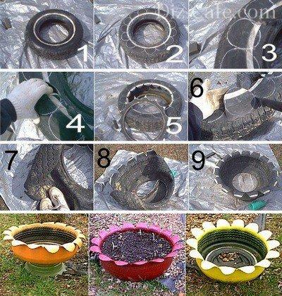 Пошаговая инструкция создания вазы для цветов