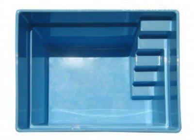 Чаша для бассейна из композита