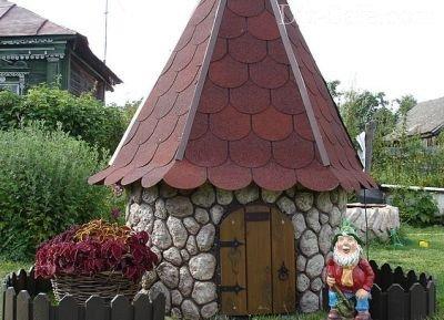 Колодец-домик
