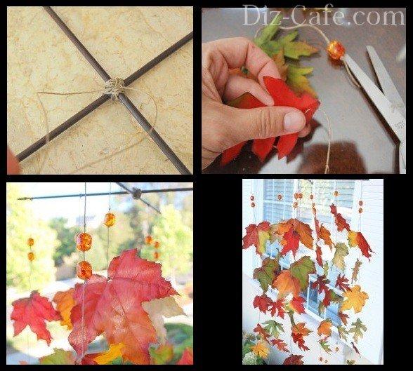 Музыка ветра из листьев и янтаря