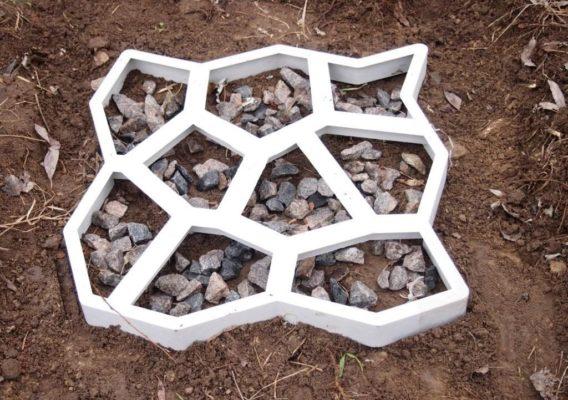 Формы для заливки бетона для дорожек купить компонентный бетон