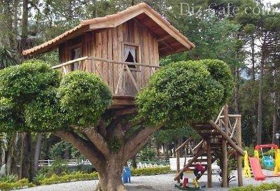 Как построить дом своими руками на дереве