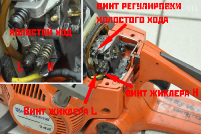 Настройка и регулировка карбюратора бензопилы сборка 8