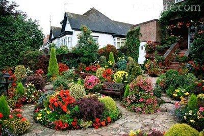 цветники английских парков фото