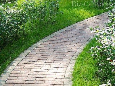 Как самостоятельно сделать форму для заливки садовых дорожек