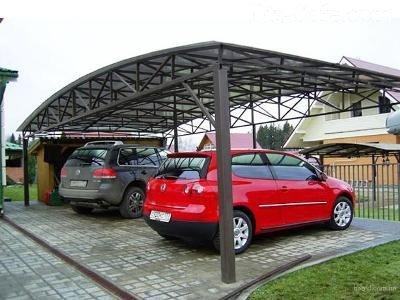 Стоянка для нескольких автомобилей