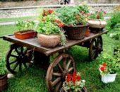 Декоративные украшения для сада своими руками