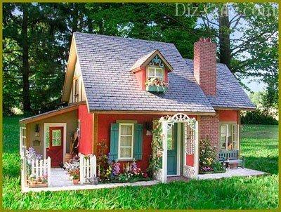 Красивый садовый домик своими руками фото 176