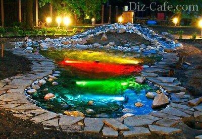 Подсветка водоема