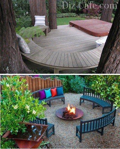 Оптимальный вариант мебели для сада