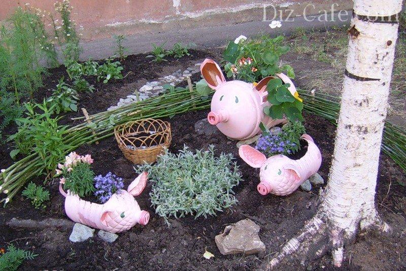 Как сделать поделку для сада своими руками фото