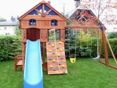 Обустройство детской площадки