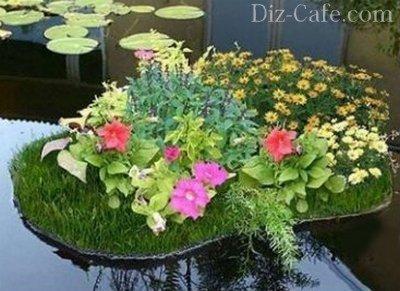 И затейливые идеи декора для сада