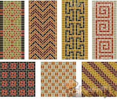 Различные варианты орнамента