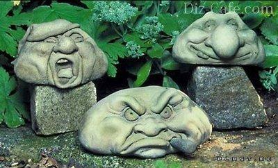 Как сделать садовые фигуры из гипса своими 967